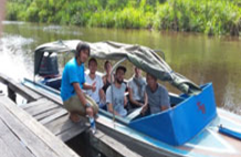 Private Speedboat Orangutan Tour & Overnight Rimba Lodge 3d/2n, Central Borneo