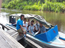 Private Speedboat & Rimba Lodge Orangutan Tour 3d/2n, Central Borneo