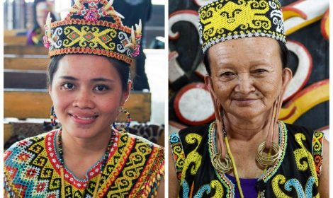 Dayak People Tribe Long Eared, Pampang Village Tour 5d/4n, East Borneo